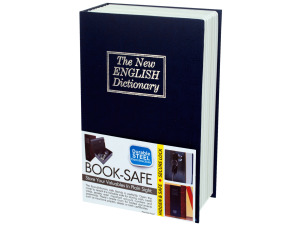 faux book safe small