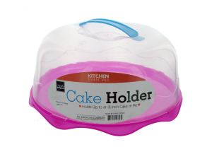 plastic cake holder assorted color bases