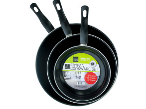 3 Piece Frying Pan Set