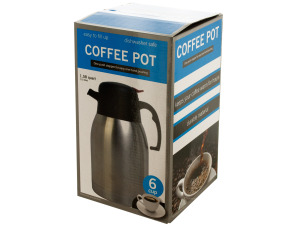 Easy Pour Stainless Steel Coffee Carafe