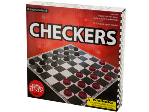 Folding Checkers Game