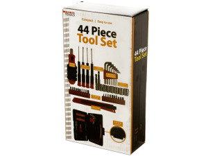 Compact Tool Set in Storage Case