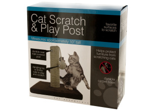 Cat Scratch & Play Post