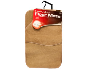 Heavy Duty Auto Floor Mats Set