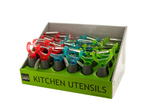 Fruit and Vegetable Peeler Counter Top Display
