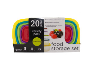 Variety Pack Food Storage Containers Set