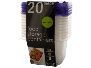 Square Food Storage Containers Set