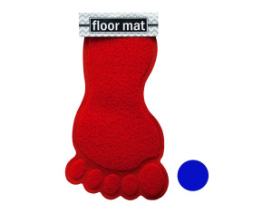 Wholesale: Foot Shaped Absorbent Non-Slip Bath Mat