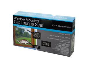Window Mounted Cat Lounge Seat