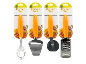 Kitchen Tool with Bright Orange Handle