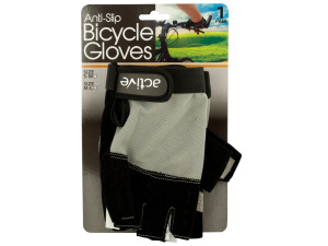 Anti-Slip Bicycle Gloves with Breathable Top Layer