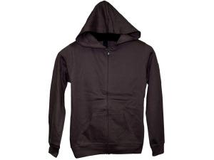 Wholesale: Boys' Medium Cocoa Zip Hoodie