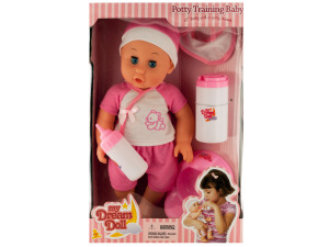Potty Training Baby Doll with Accessories