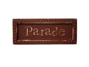 Parade Mini Metal Sign Magnet