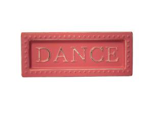 Dance Mini Metal Sign Magnet