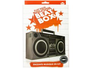 Flat Pack Music Speaker Beat Box