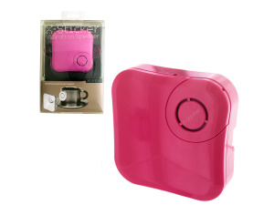 X-Sticker Pink Vibration Speaker