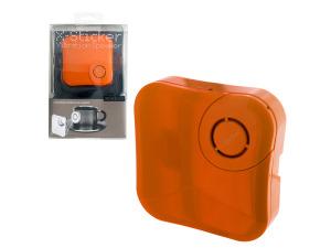 x-sticker orange vibration speaker