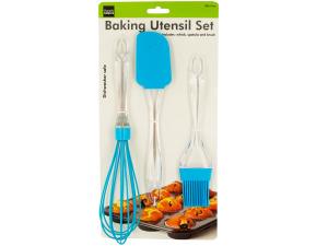 Silicone & Plastic Baking Utensil Set