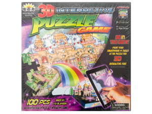 3D Interactive Princess Puzzle Game