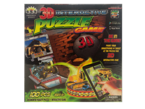 3D Interactive Construction Puzzle Game