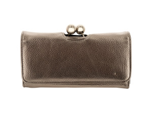 Wholesale: Metallic Kiss Lock Wallet
