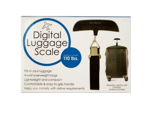 Digital Luggage Scale with Easy Grip Handle