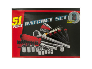 Medium Ratchet Set with Carrying Case
