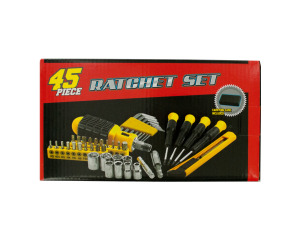 Small Ratchet Set with Carrying Case
