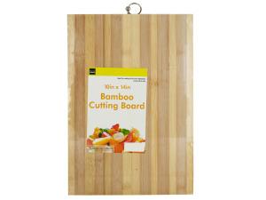 Striped Bamboo Cutting Board