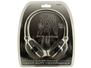 Cushioned Noise Cancellation Headphones
