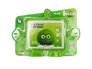 "iKiddo ""Mr Fuji"" Green Free-Standing iPad Case"