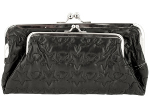 Wholesale: Stars & Hearts Quilted Clutch Wallet