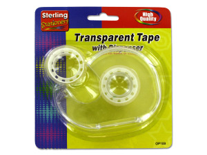 Tape dispenser with extra roll