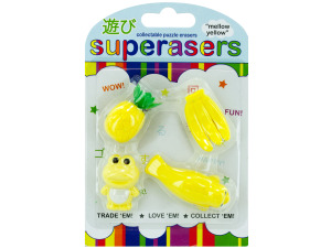 mellow yellow erasers