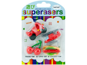 red hot erasers