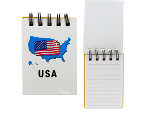 USA Wirebound Notepads