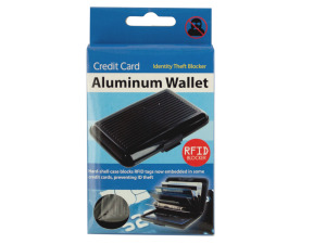 Wholesale: Aluminum Credit Card Wallet