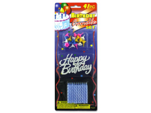 Birthday candle set