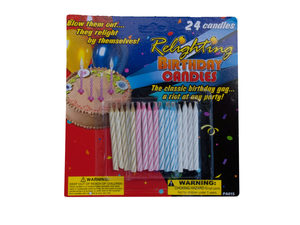 Wholesale: Relighting Birthday Candles