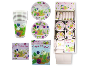 Wholesale: Mother's Day Party Tableware Display