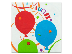 18 pack party napkins 12.875 x 12.75 inch
