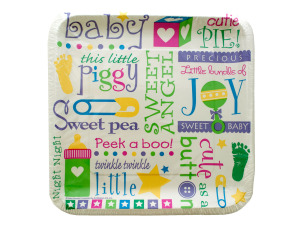 12pk 9 1/8 inch bundle of joy plates