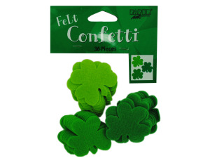 36ct shamrock felt confetti