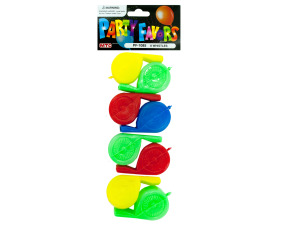 8 pack party favor whistles