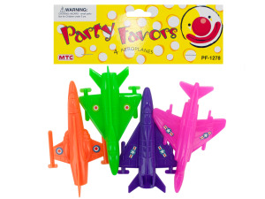 4 pack aeroplanes party favors