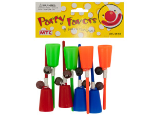 8 pack ball & cup games party favors