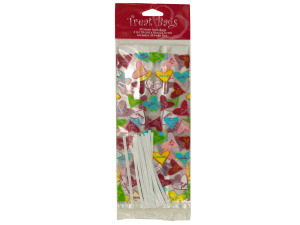 20 pack 4 x 9 inch candy crush cello bags