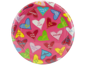 8 pack 6.75 inch candy crush paper plates