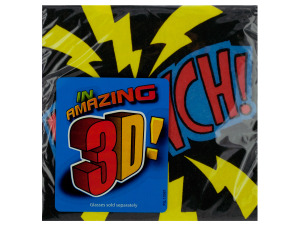 16 pack 9 7/8 x 9 7/8 in. superhero fun beverage napkins